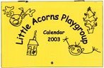 Sample front cover of a 2003 calendar
